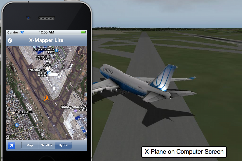 Screenshot X-Mapper Lite (for X-Plane)